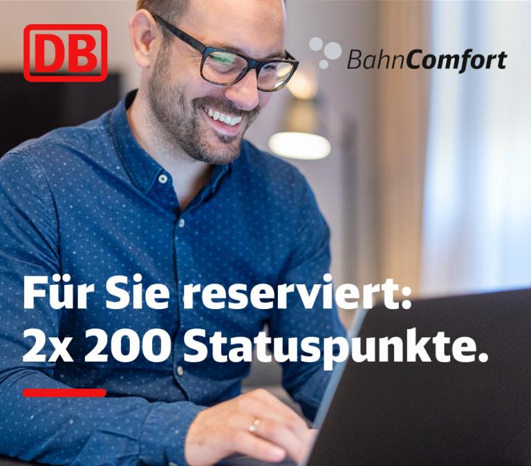 BahnComfort Punkte BahnCard Gutschein kostenlos