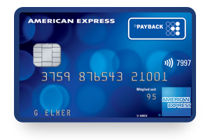 Payback American Express Kreditkarte Aktion
