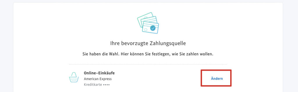 Payback-American-Express-PayPal-Trick Zahlungsart